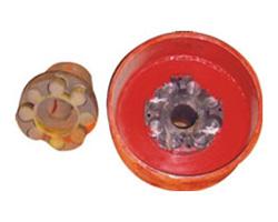 MLL-II型整体式制动轮梅花形弹性联轴器(GB5272-85)